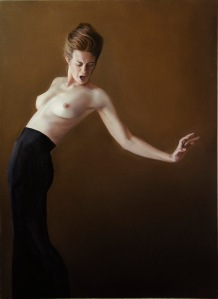 Lucretia, Oil on linen, 97 x 71cm