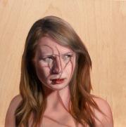 Effie Pryer, North Bruny, oil on panel, 30x30cm